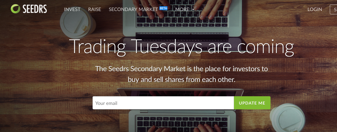 Seedrs launches secondary market for investors to buy and sell shares