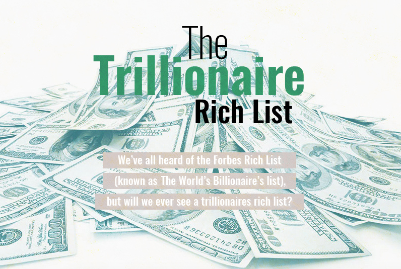The world's most likely trillionaires revealed: The