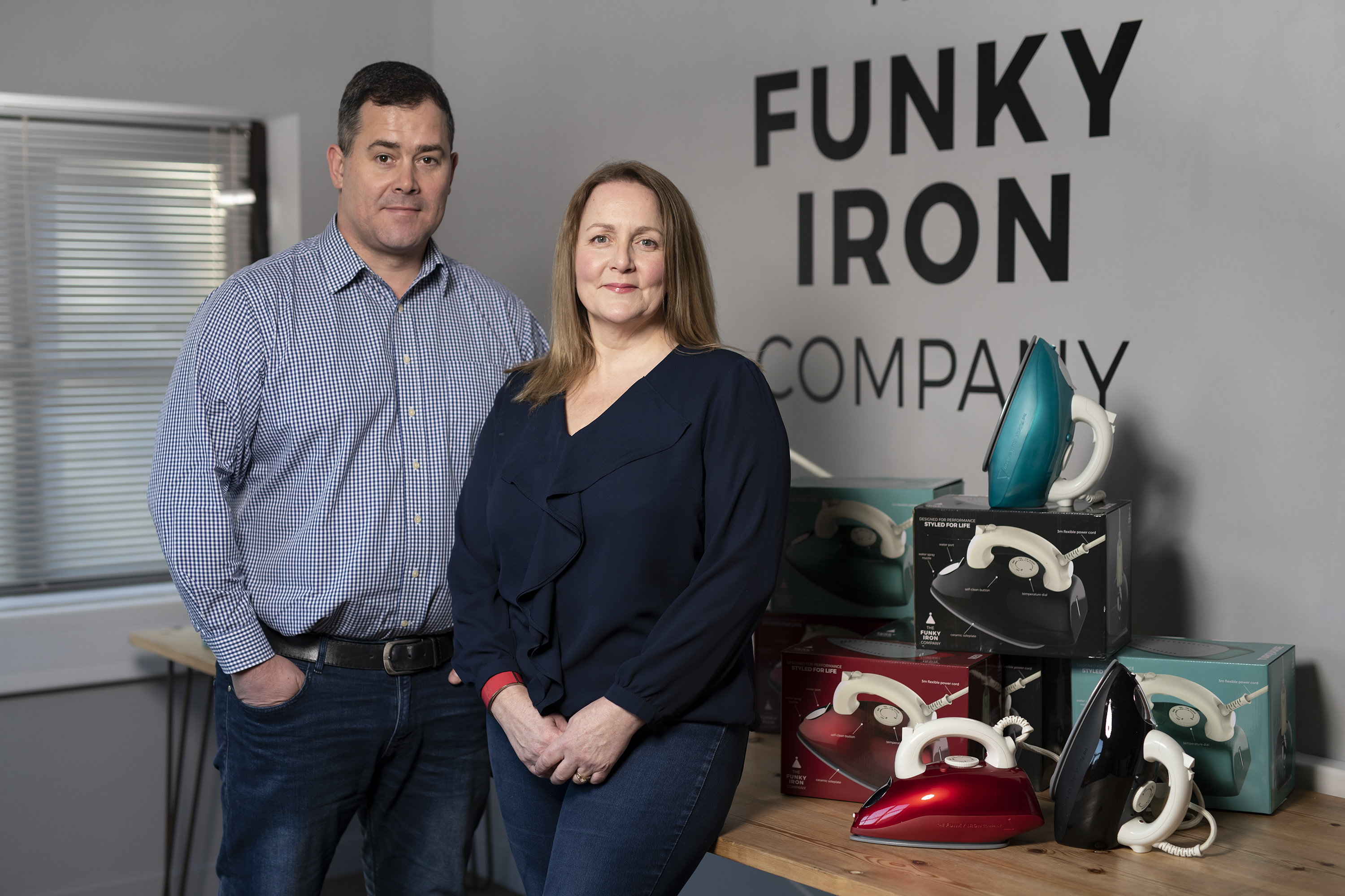 The Funky Iron Company founders
