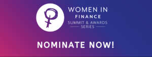 Nominate now for this year's Women in Finance Awards