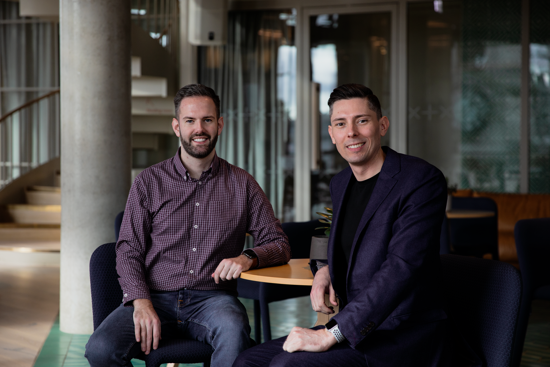 Superscript co-founders, Ben Rose and Cameron Shearer