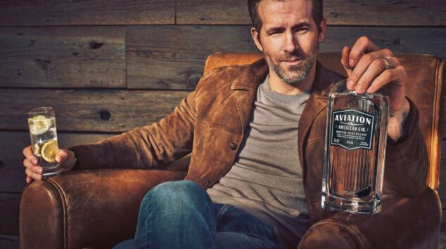 Ryan Reynolds Aviation Gin, earn-out concept