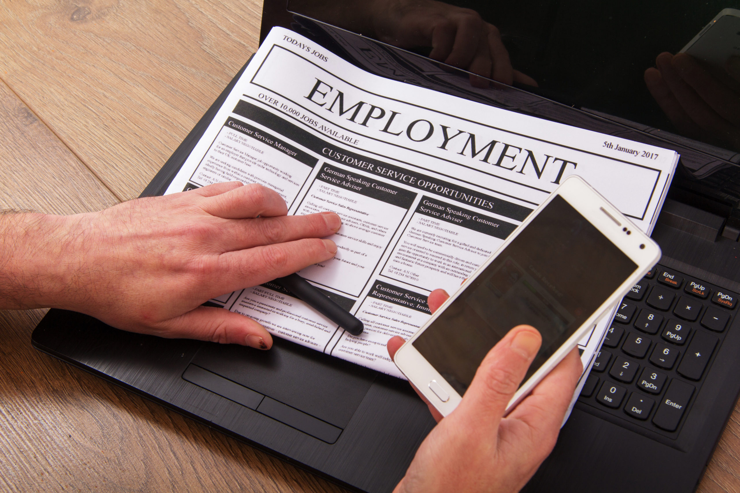 Checklist: what should be in a job advert?