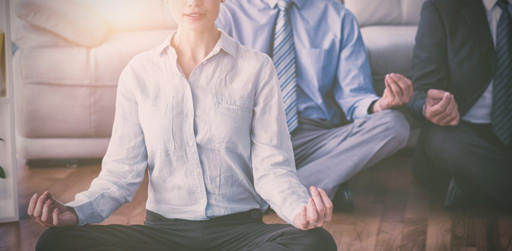 Meditation rooms and exercise classes are good for wellbeing