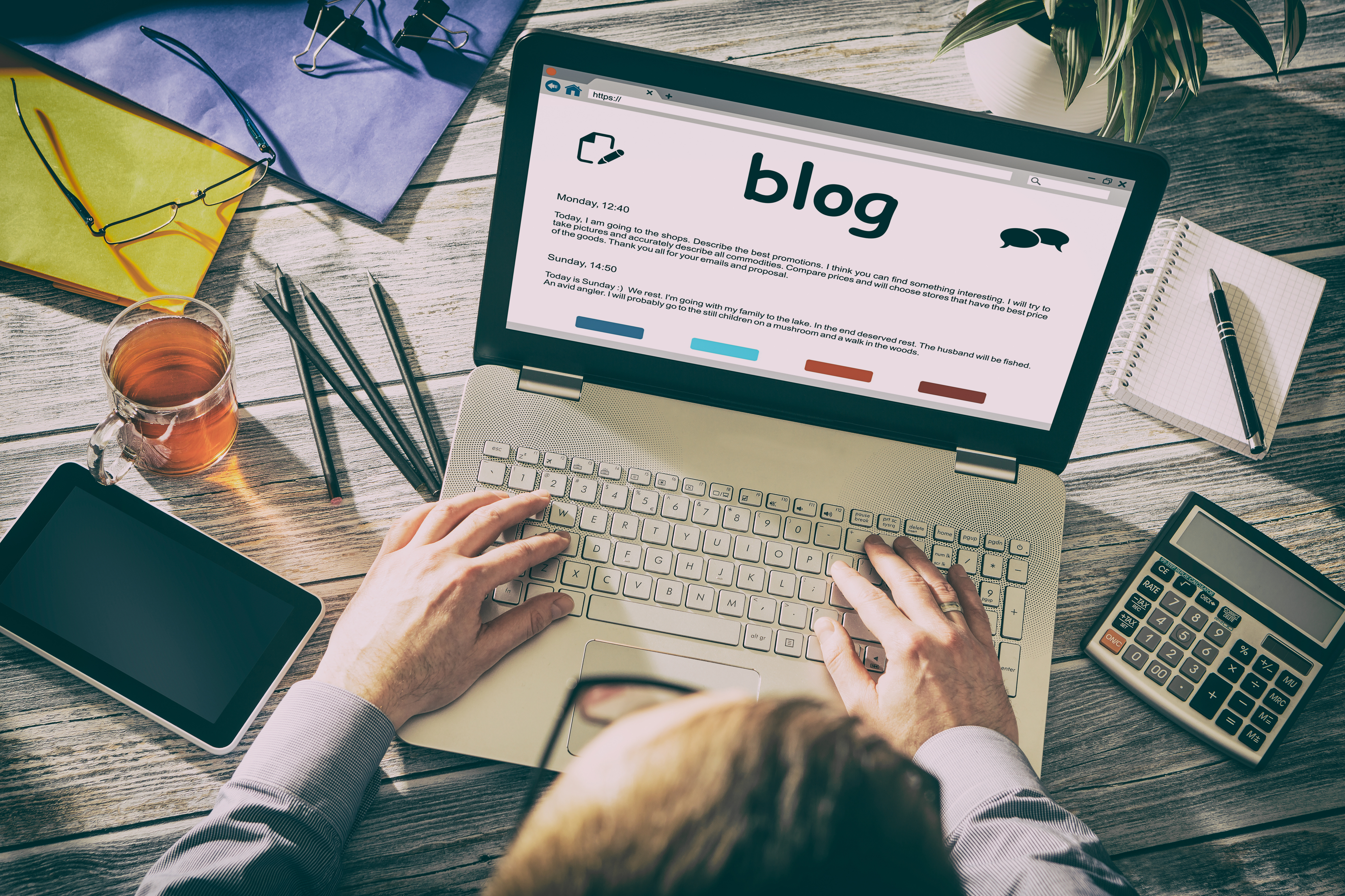 Blogging should be part of an overall marketing campaign