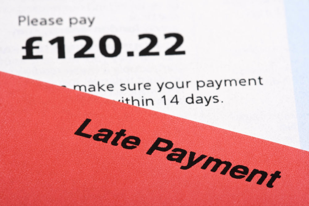 Small businesses forced to write off debt due to late payment