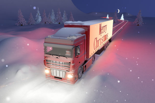 Make sure your delivery is on point this Christmas