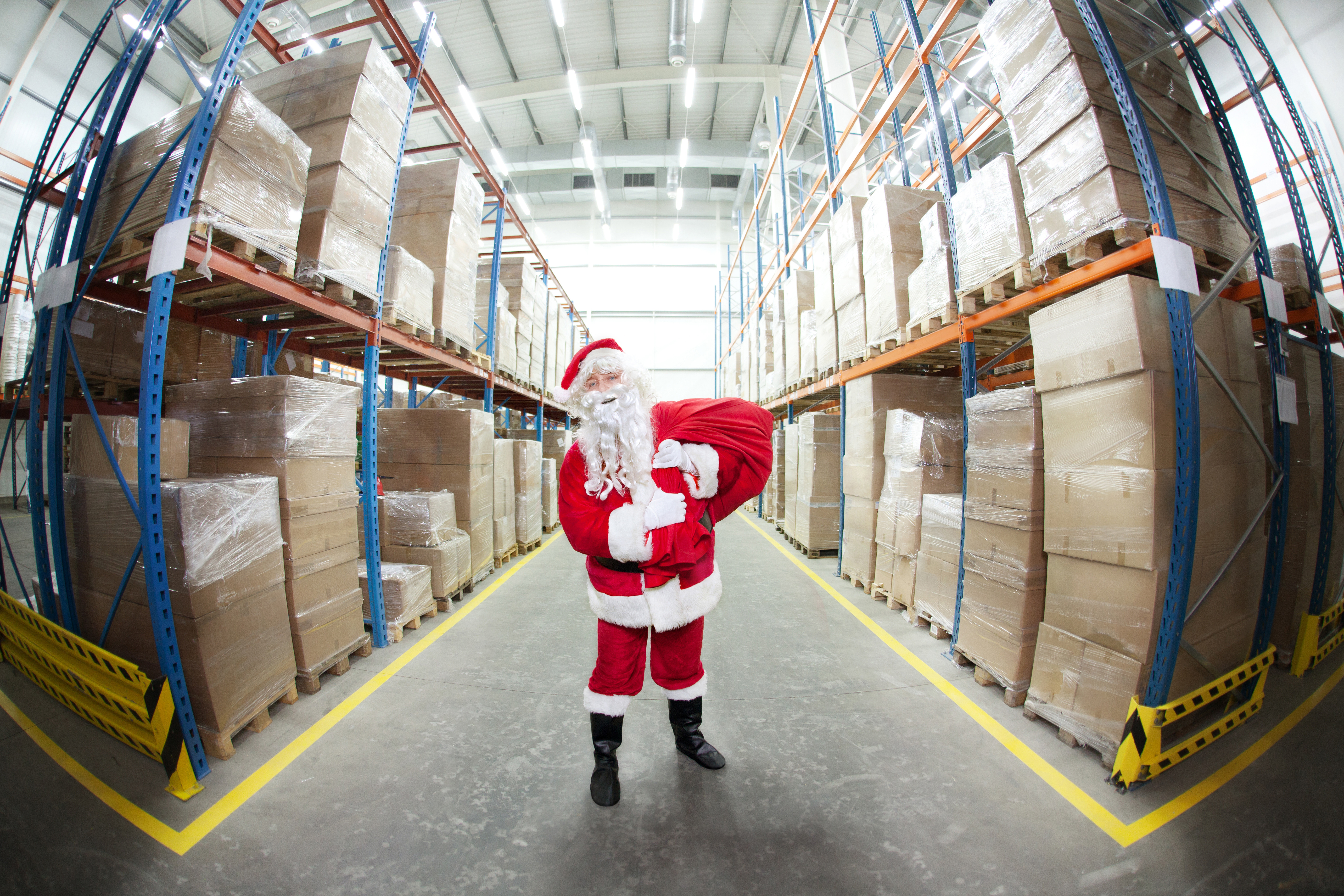 Santa's supply chain is actually a possibility, as we discover in this piece