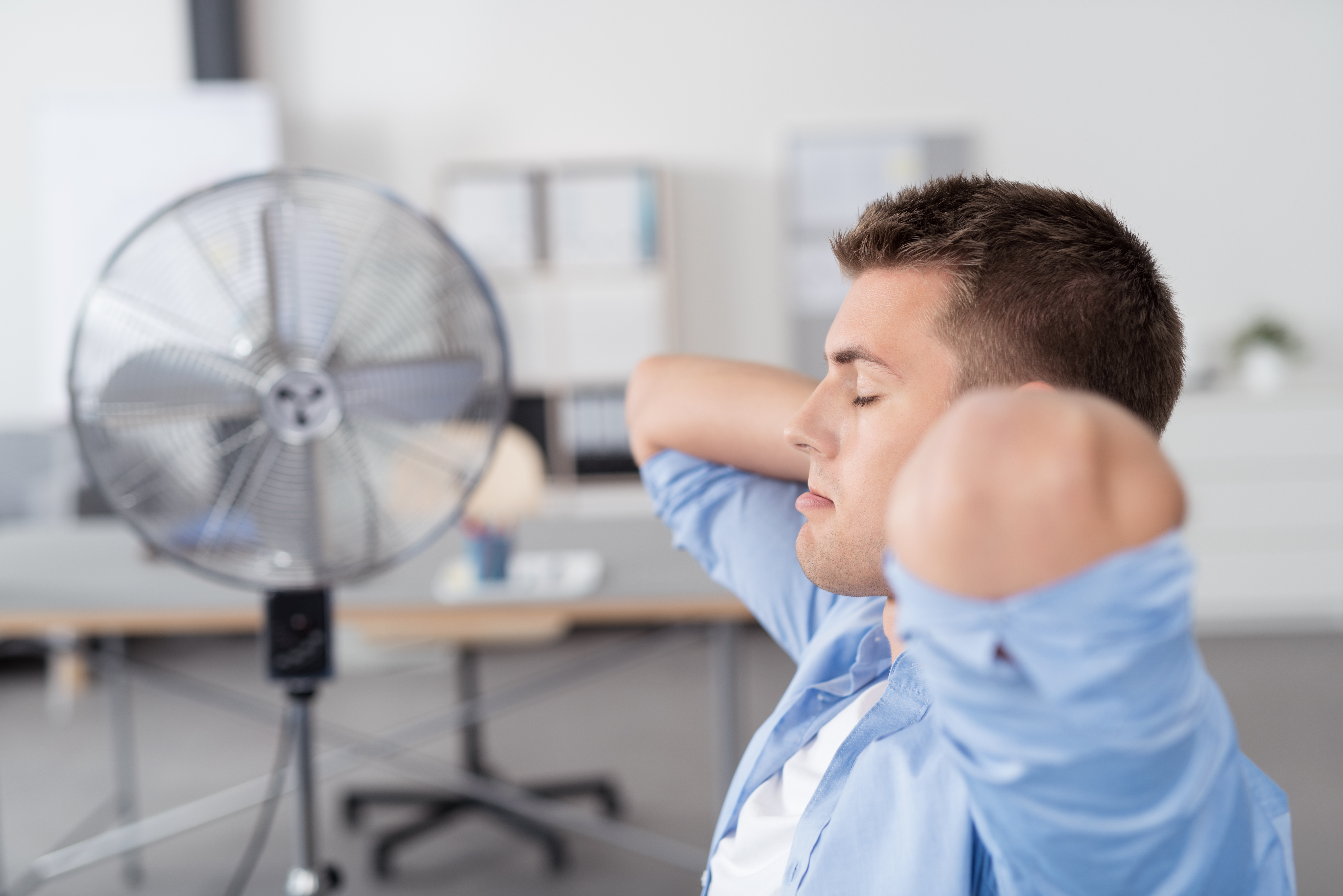Tips for staying cool in the office
