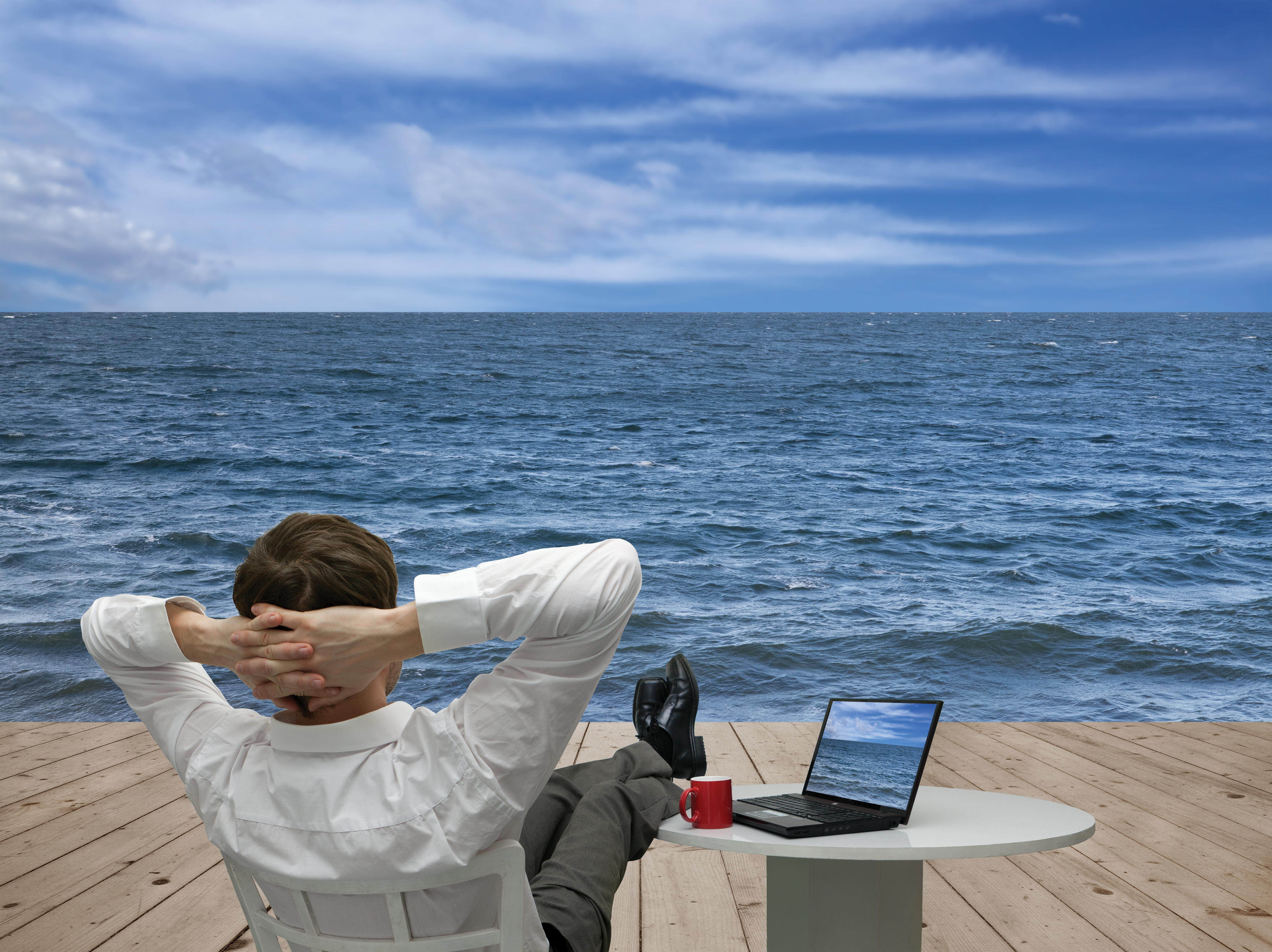 All work and no play – Small business managers don't go on holiday
