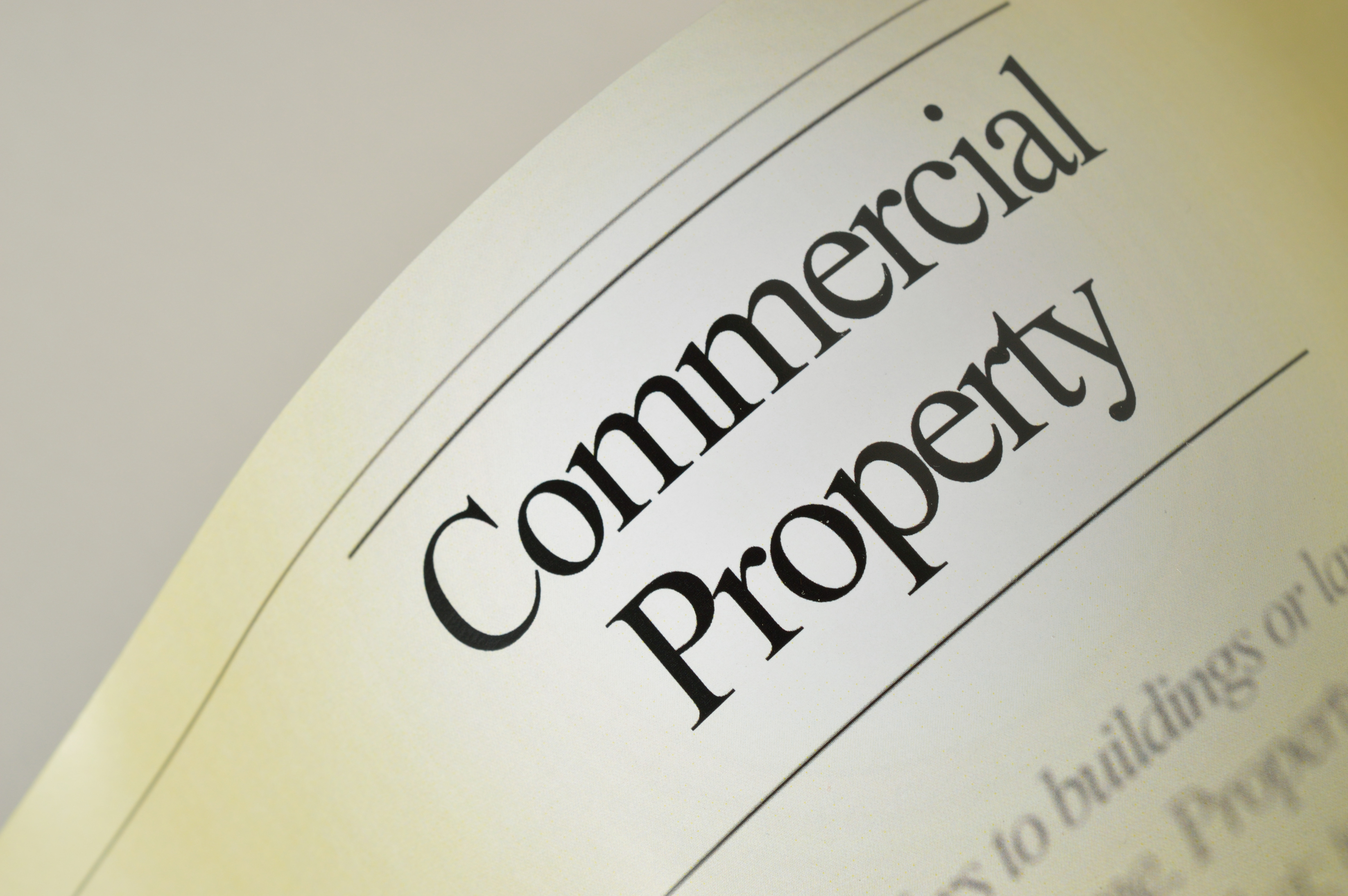 When taking on commercial property, consider factors such as cash flow, the area, and regulatory requirements