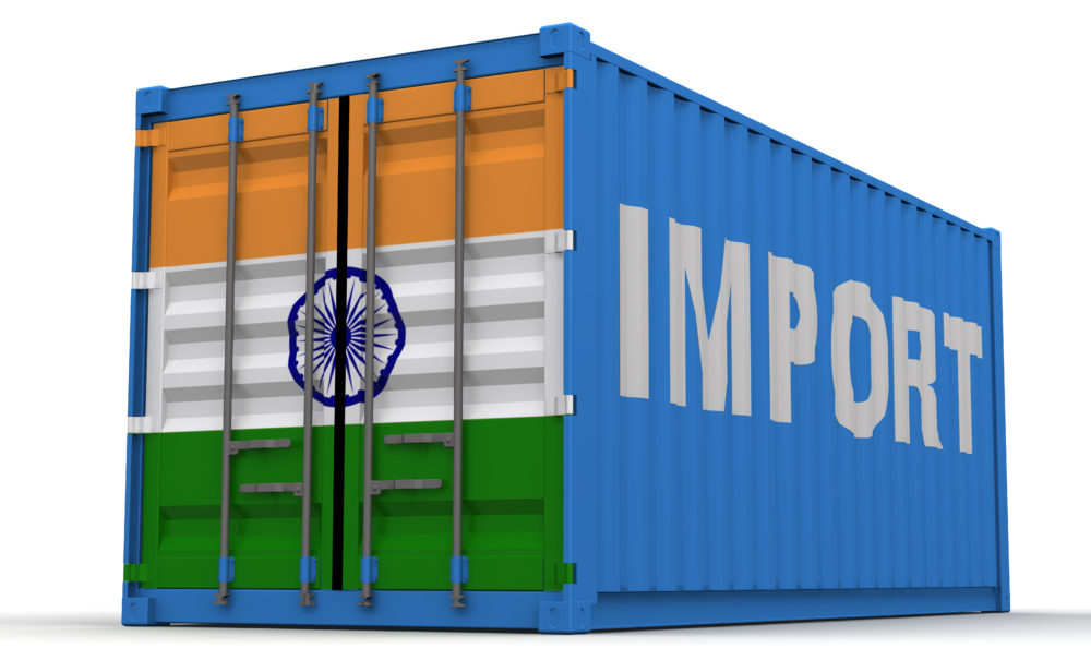 Importing from India