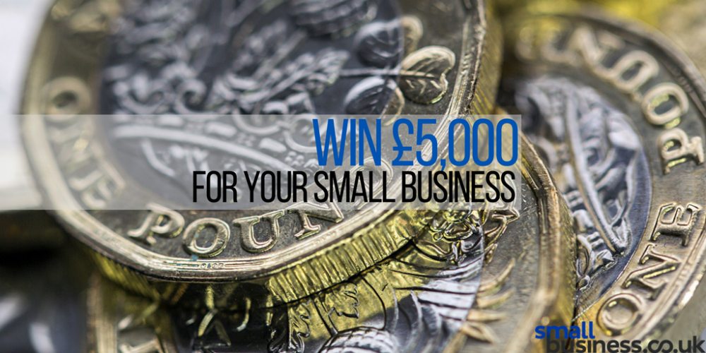 Apply now for the June competition for your chance of £5,000