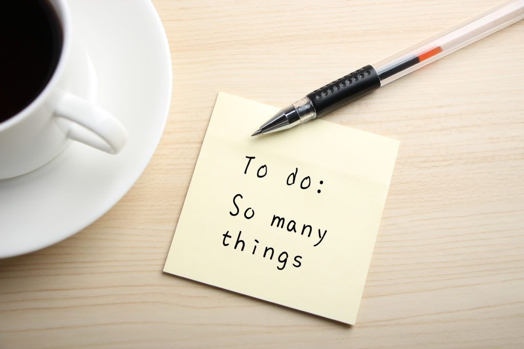 To do lists can be overwhelming for freelancers