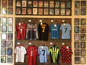 Classic Football Shirts shirt and art gallery