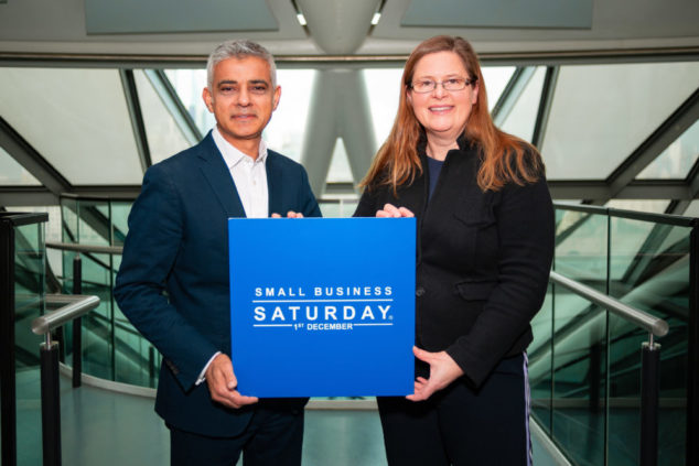 Small Business Saturday 2018 falls on 1st December