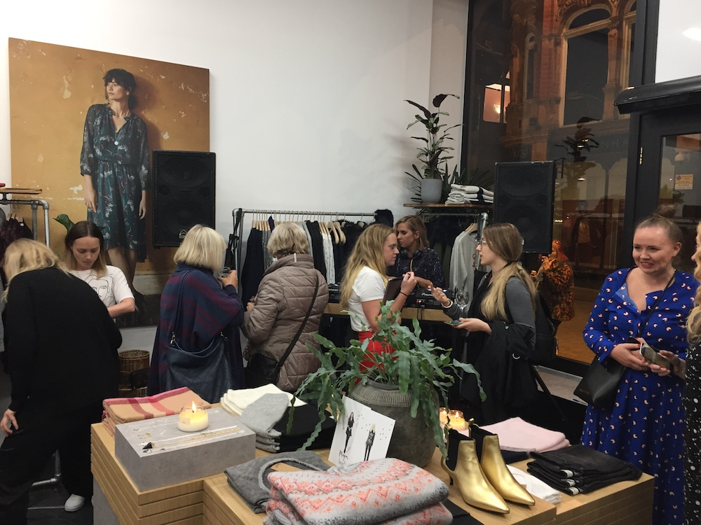 Hush's UK pop-up store