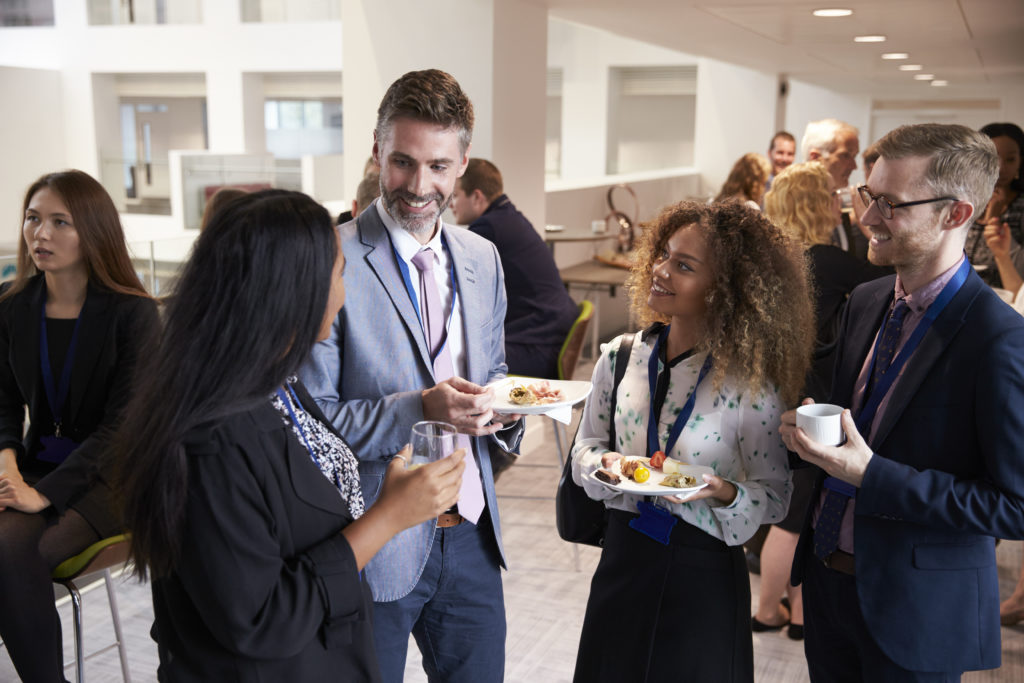 Networking is central to becoming the go-to person in your industry