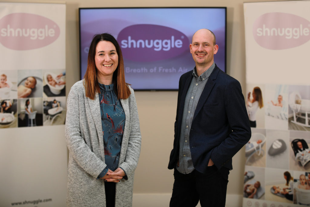 Adam and Sinead talk about starting their business in Belfast
