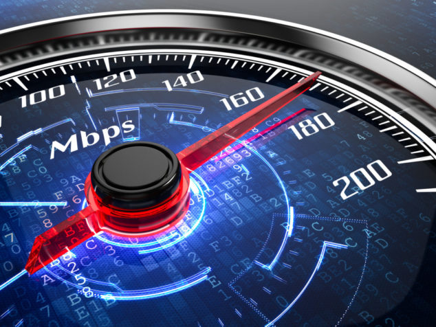 Where can you find faster broadband speeds?