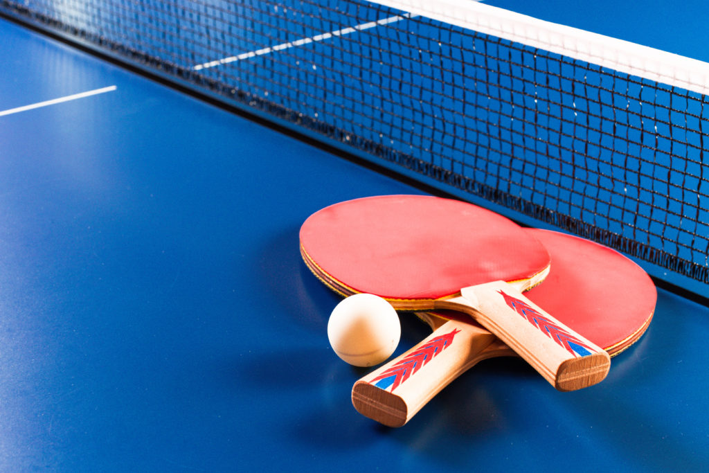 Table tennis take-up has decreased over recent years