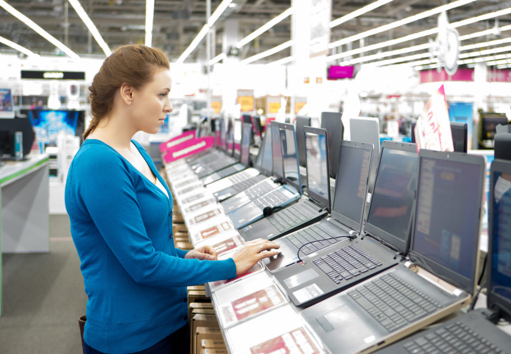 Buying new business technology rather than buying refurbished
