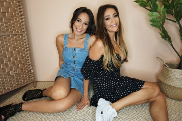 Natalie (right) set up the company with her sister, Lexi