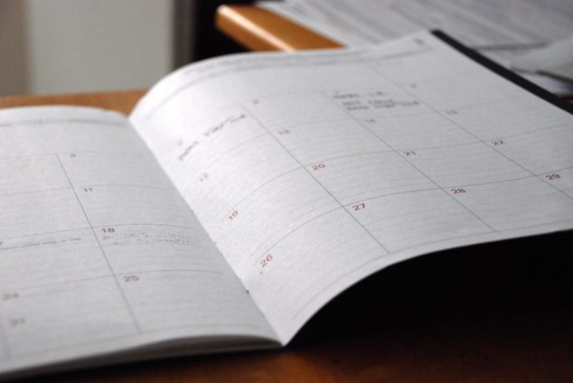 Having a content calendar helps you to plan your strategy