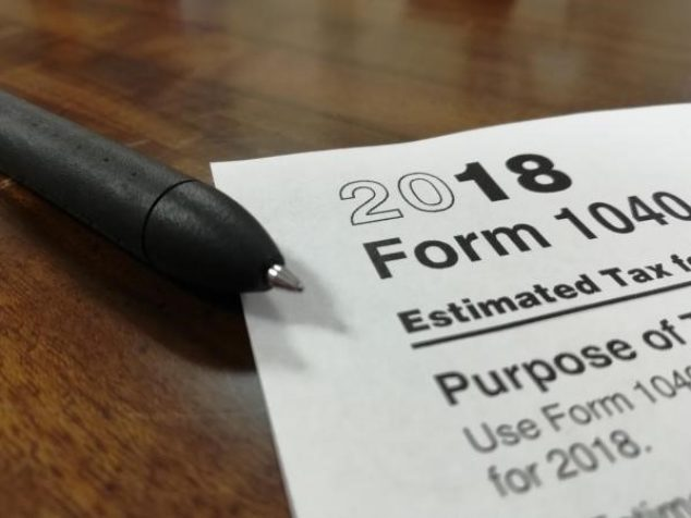 IRS Form 1040 to illustrate piece about US expat taxes