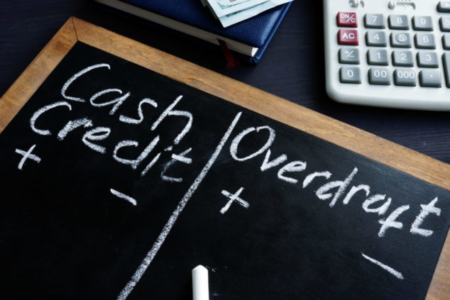 Small businesses are turning to overdrafts as they struggle with cash flow