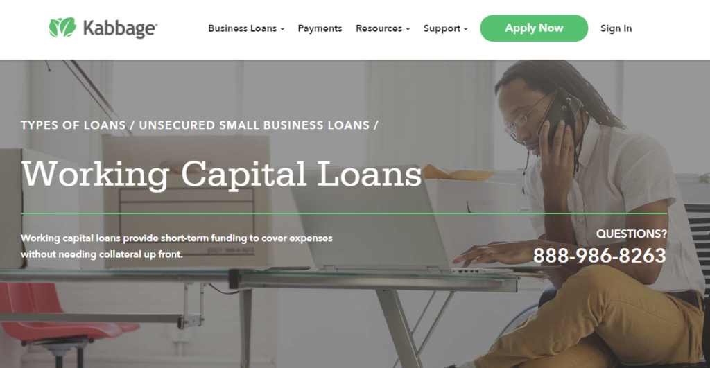 Kabbage can help with your working capital
