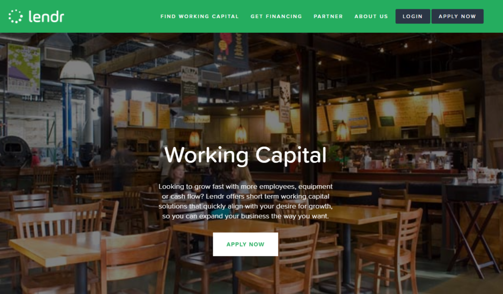 Lendr can help you with your working capital