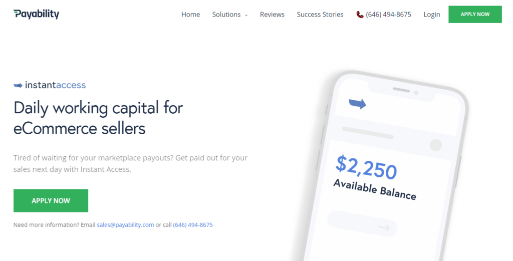 Payability is a platform that can help you with your working capital