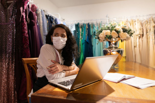 Some small business owners have been experiencing stress and worry because of COVID-19