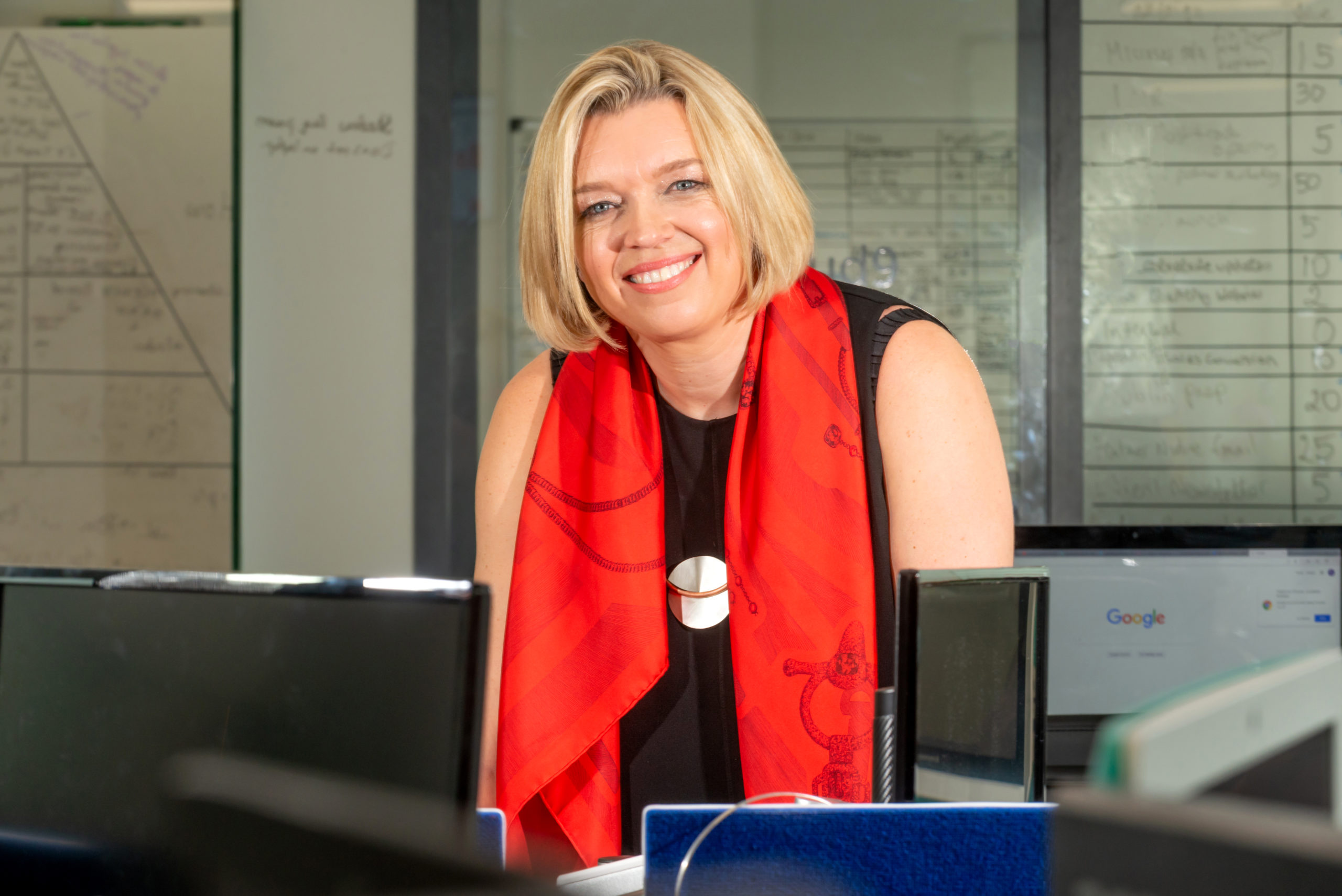 Carlene Jackson, CEO of Cloud9 Insight, based in Brighton, East Sussex