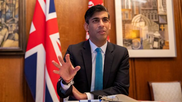 Chancellor Rishi Sunak, small business support package concept