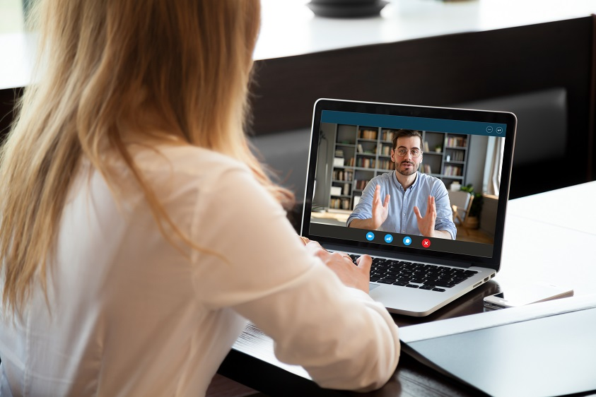 Zoom tips and techniques when doing video job interviews