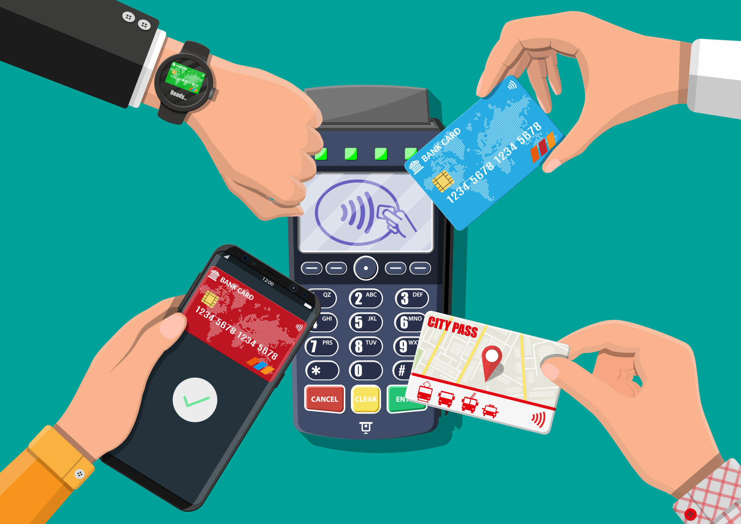 How to optimise cash flow with cashless payments