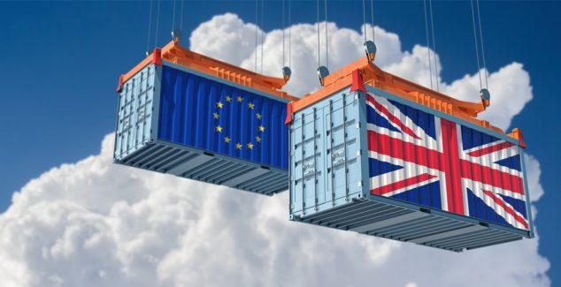 Pre-Brexit stockpiling is thought to a contributor to the fall in EU exports