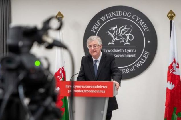 Mark Drakeford, First Minister of Wales, made his announcement earlier today