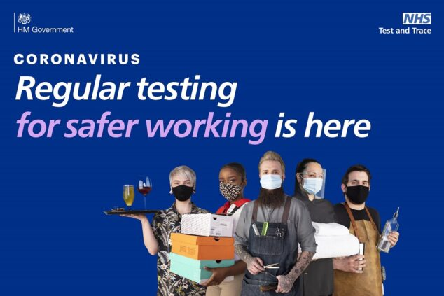 Regular Covid-19 testing could help to make your workplace safer