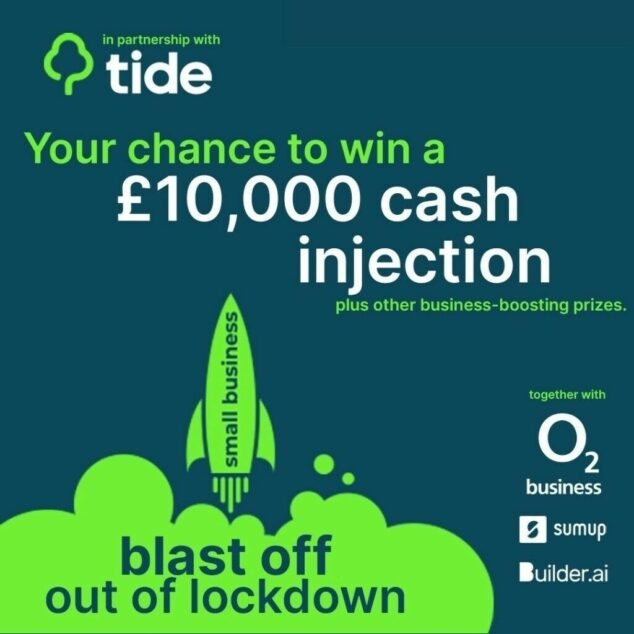 Entrants could win a £5,000 or £10,000 cash prize